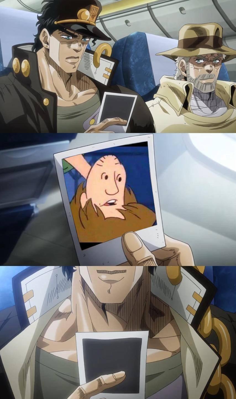 ay that's a mothafuckin Jojo shitpost - meme