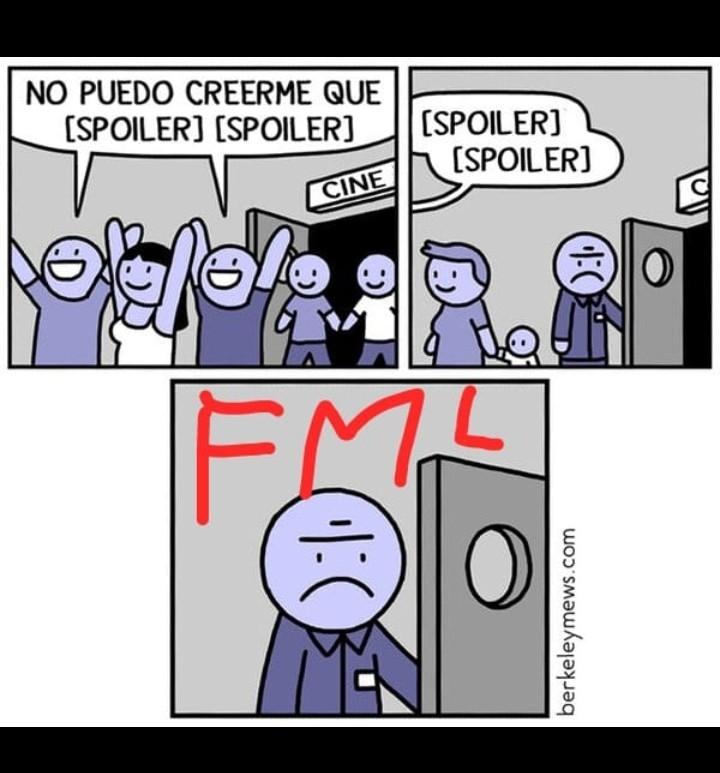 FML es FUCK MY LIFE, lo que es Joder mi vida... :C - meme
