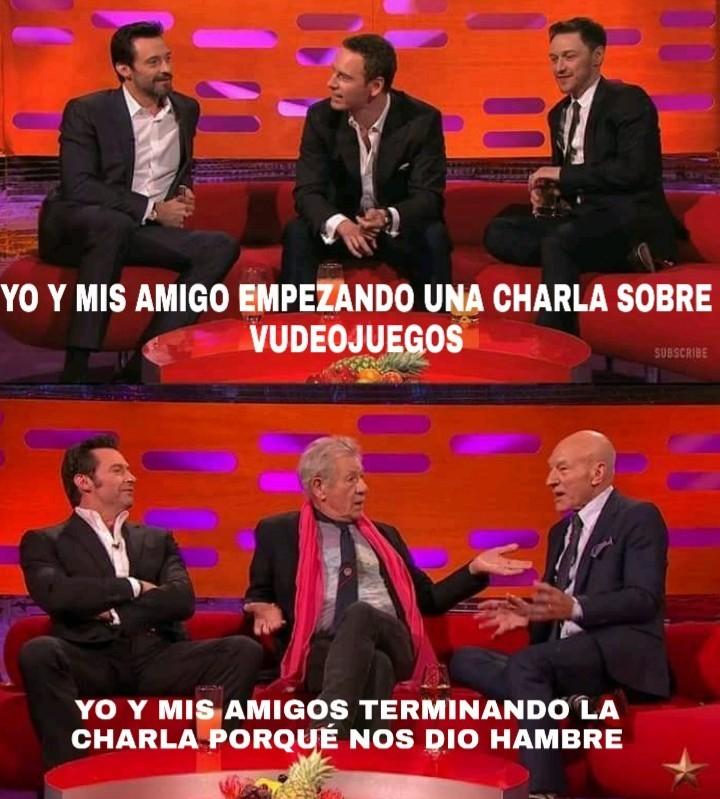 CHARLAS BIEN LARGAS - meme