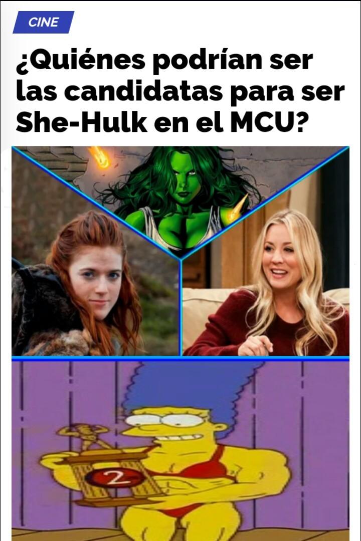 Yo voto por Marge - meme