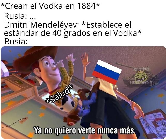 No coloqué la bandera imperial rusa douuuuuu - meme