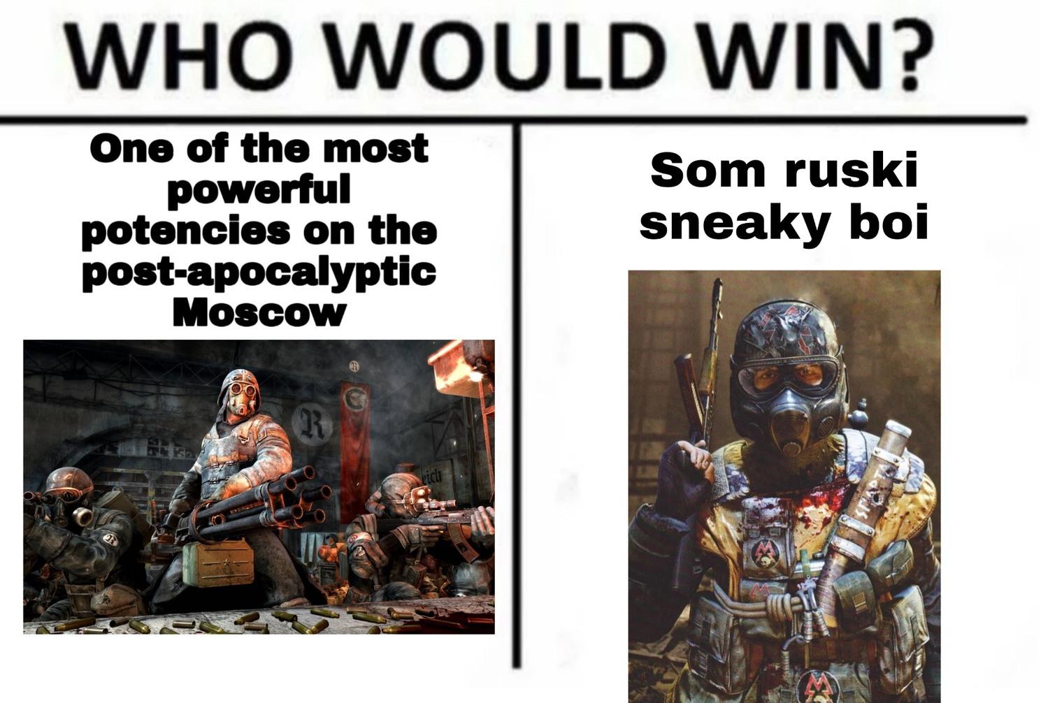 Metro meme :D