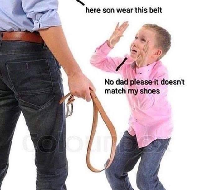 dongs in a belt - meme