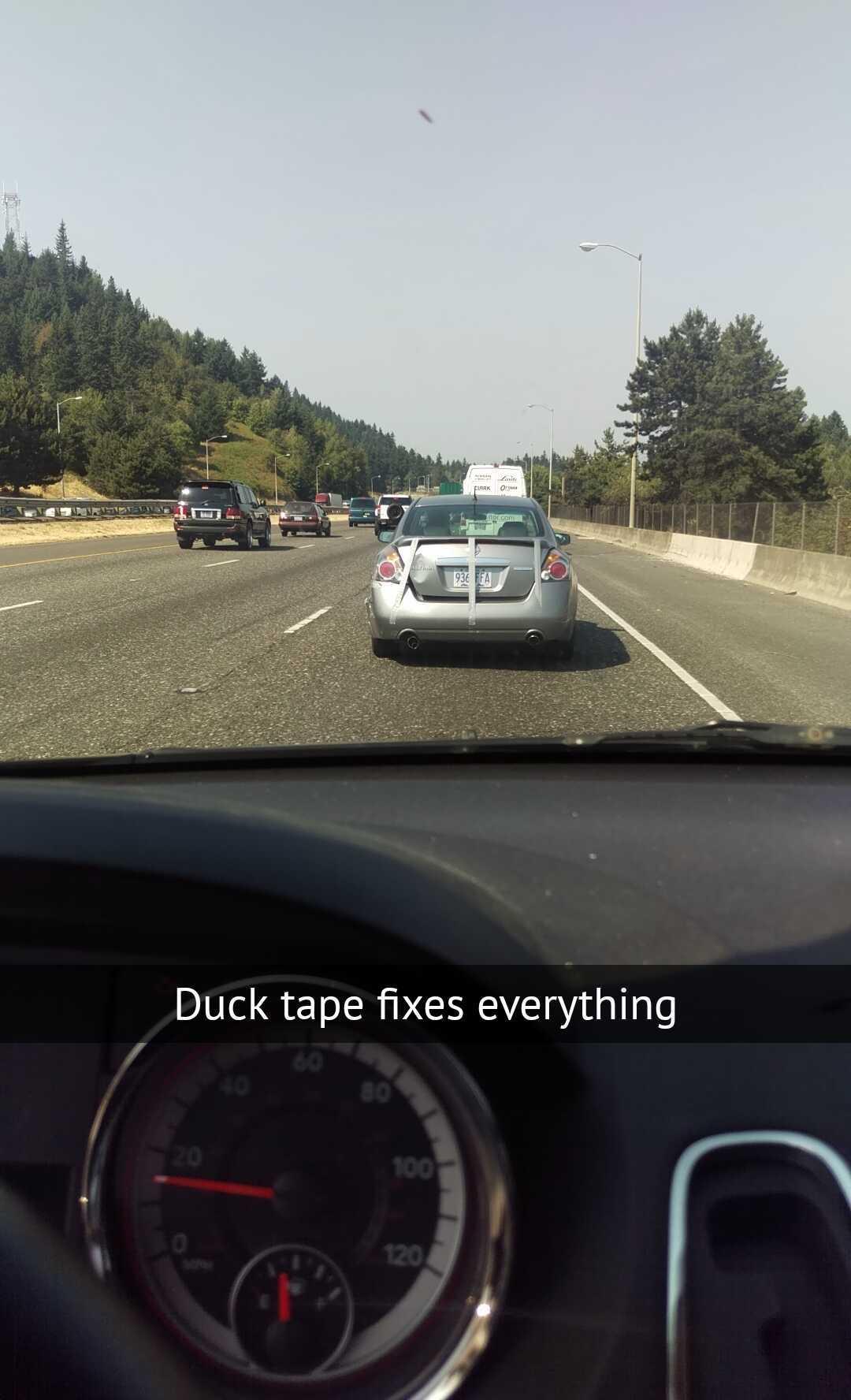 Duck tape - meme