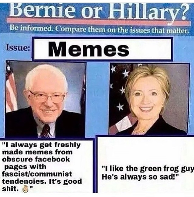 oh Hilary - meme