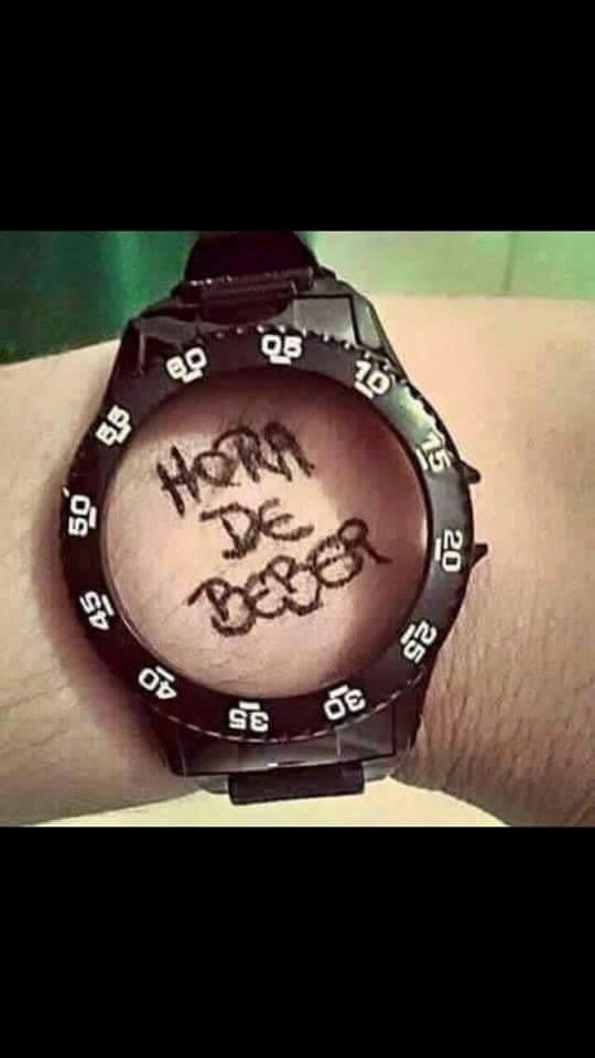 ¿Qué hora es? - meme