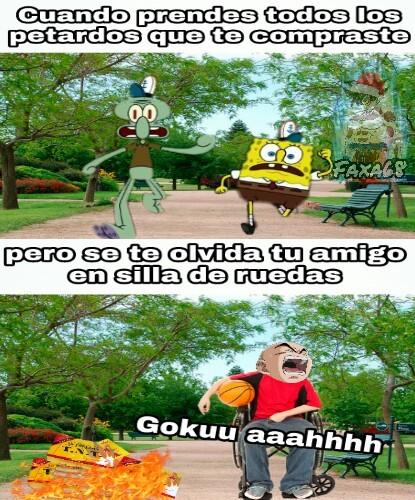 Gokuuu aaahhhh - meme