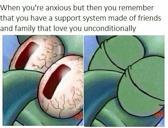 We're all Squidward - meme
