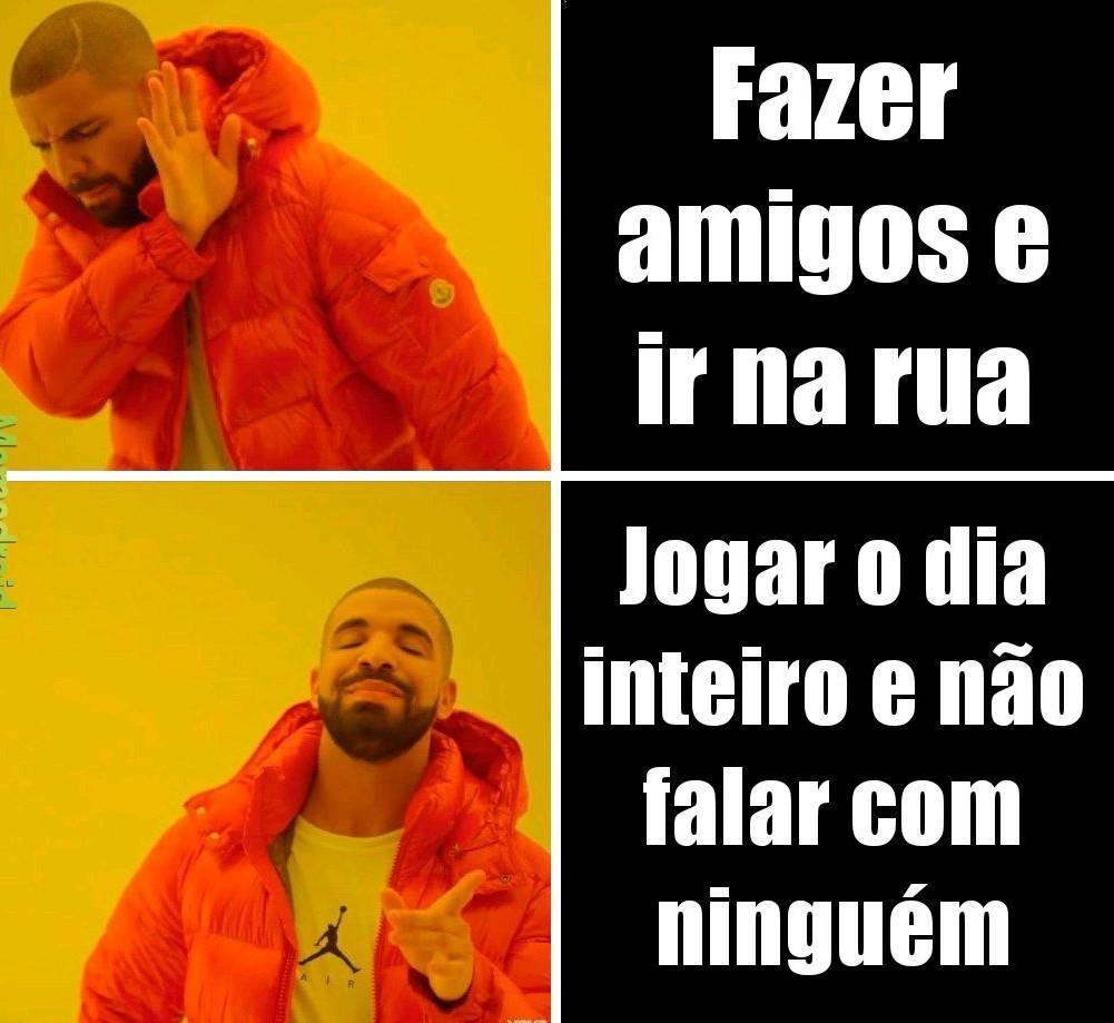 Drake antisocial - meme