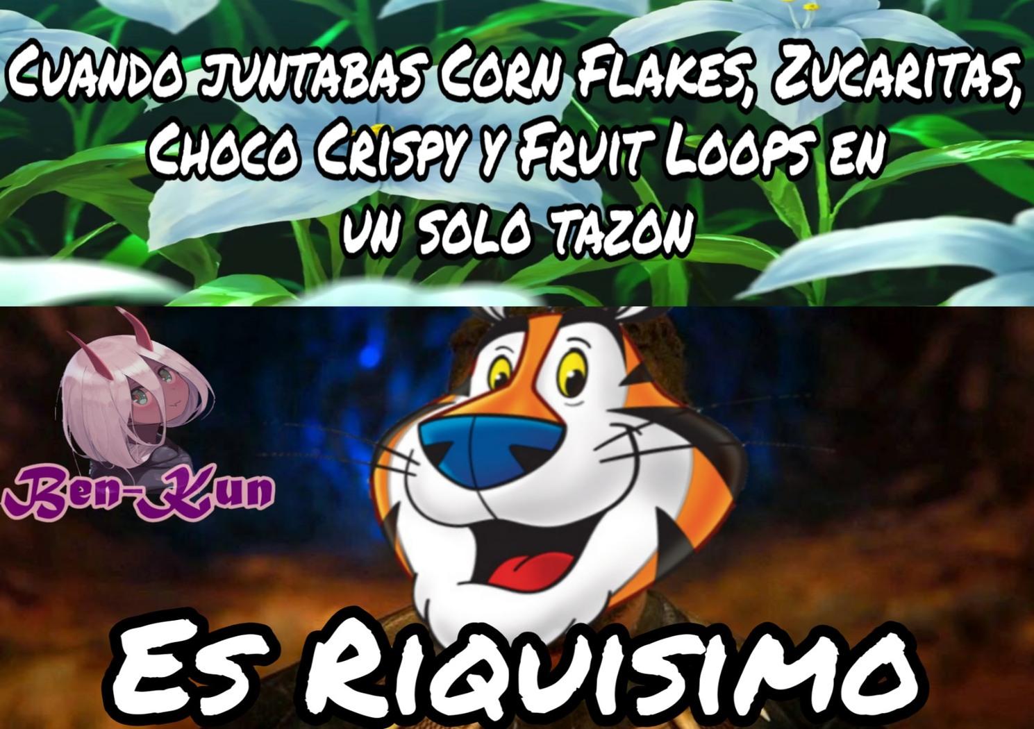 """""""F"""" por venezuela que ya no llegan los cereales Kellog's :c - meme"""