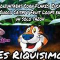 """""""F"""" por venezuela que ya no llegan los cereales Kellog's :c"""