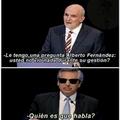El posible presidente... F por Argentina
