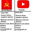 YouTube is communist