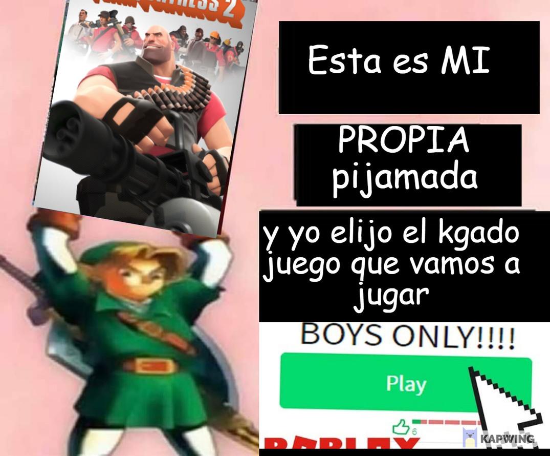 CHICOS SOLO - meme