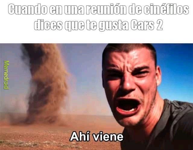 La arena se aproxima - meme