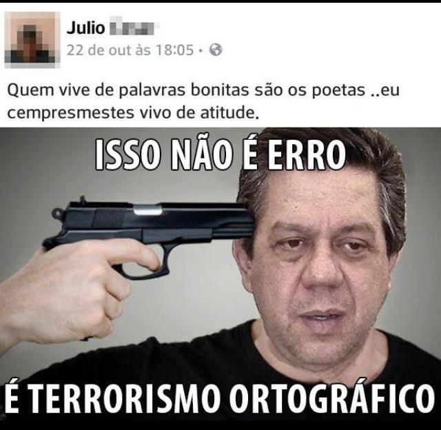 professoras de português chorando e se matando sigo de volta ------> - meme