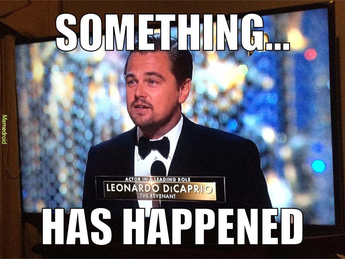 cogratulations leo! - meme