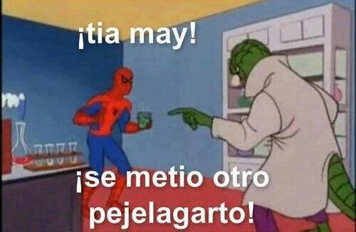 Ese spidey - meme