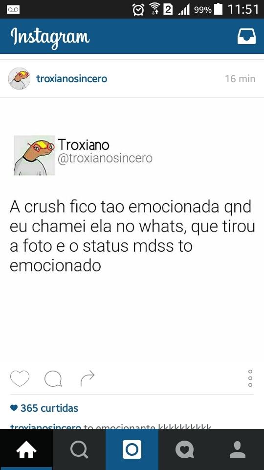 TÃO EMOCIONADA QUE BLOQUEOU - meme