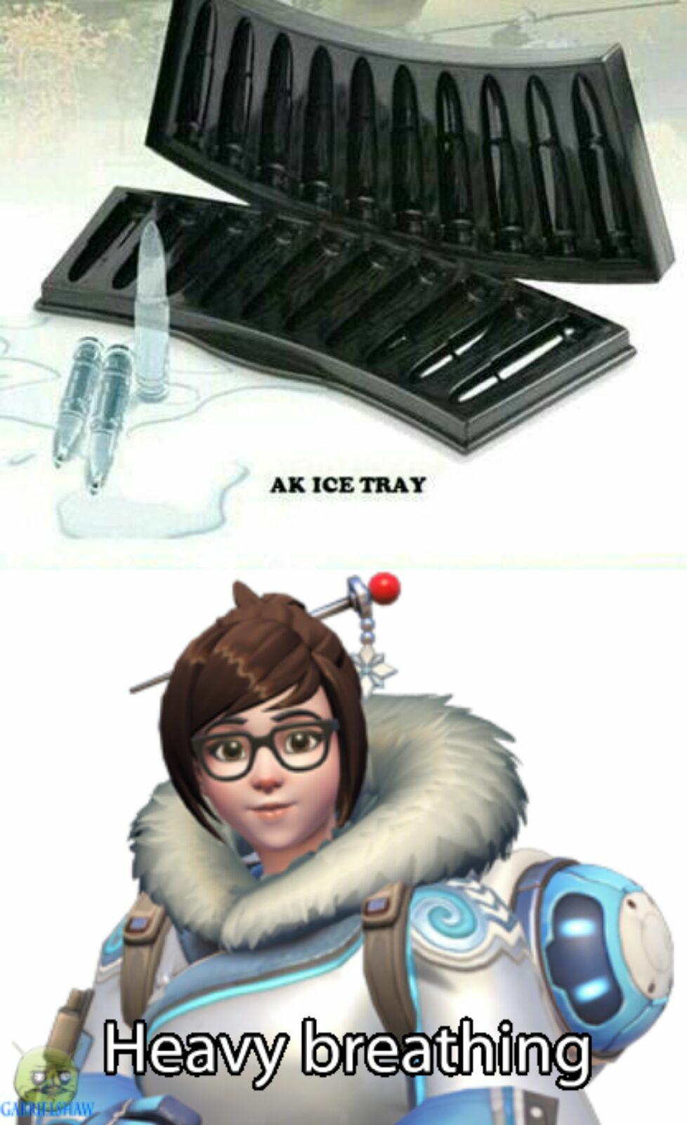 I fucking hate Mei so much - meme