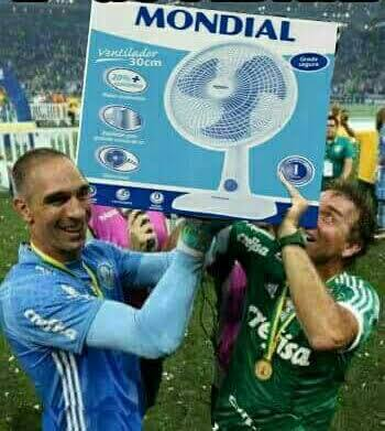 Palmeiras e seu mondial - meme