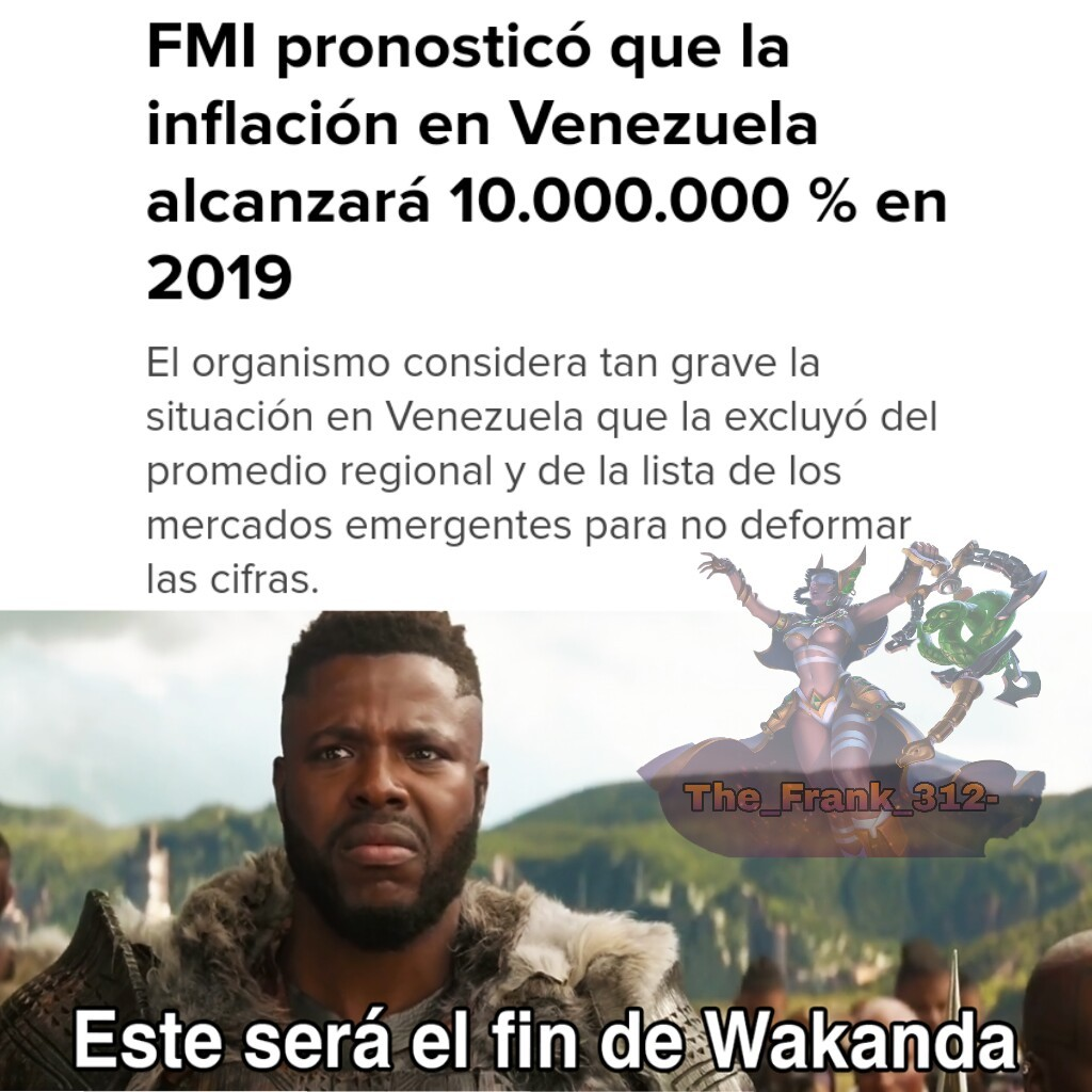 Pobre Venezuela :c - meme