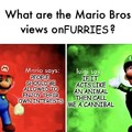 Mario Bros Furries