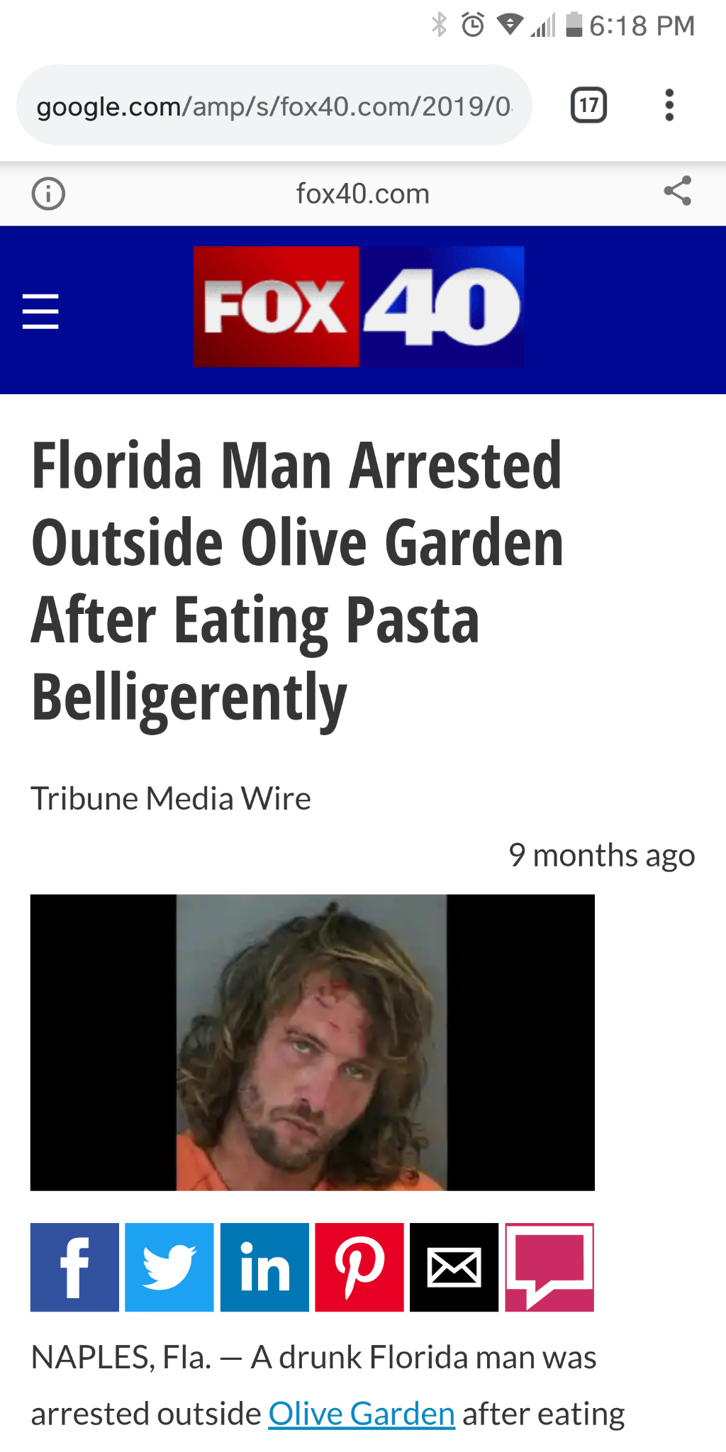 Florida man 4/12 - meme