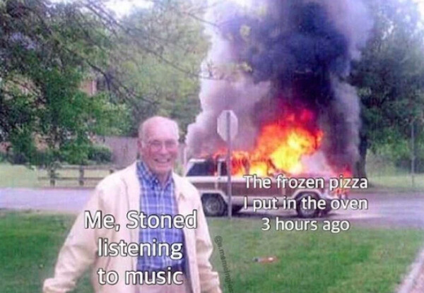 Music is life - meme