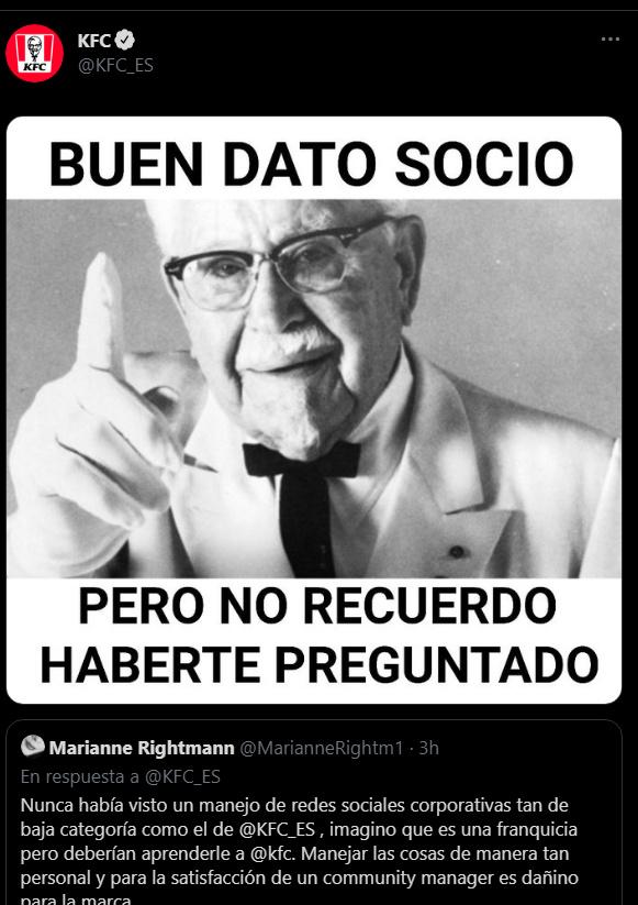 El cm ce KFC_ES es tremendo domador - meme