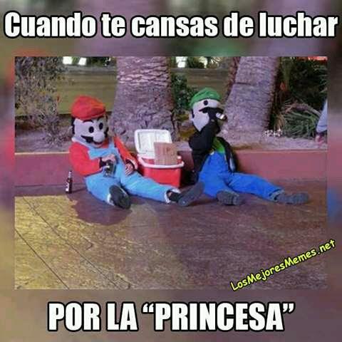 Ya no vale la pena Luigi.... - meme