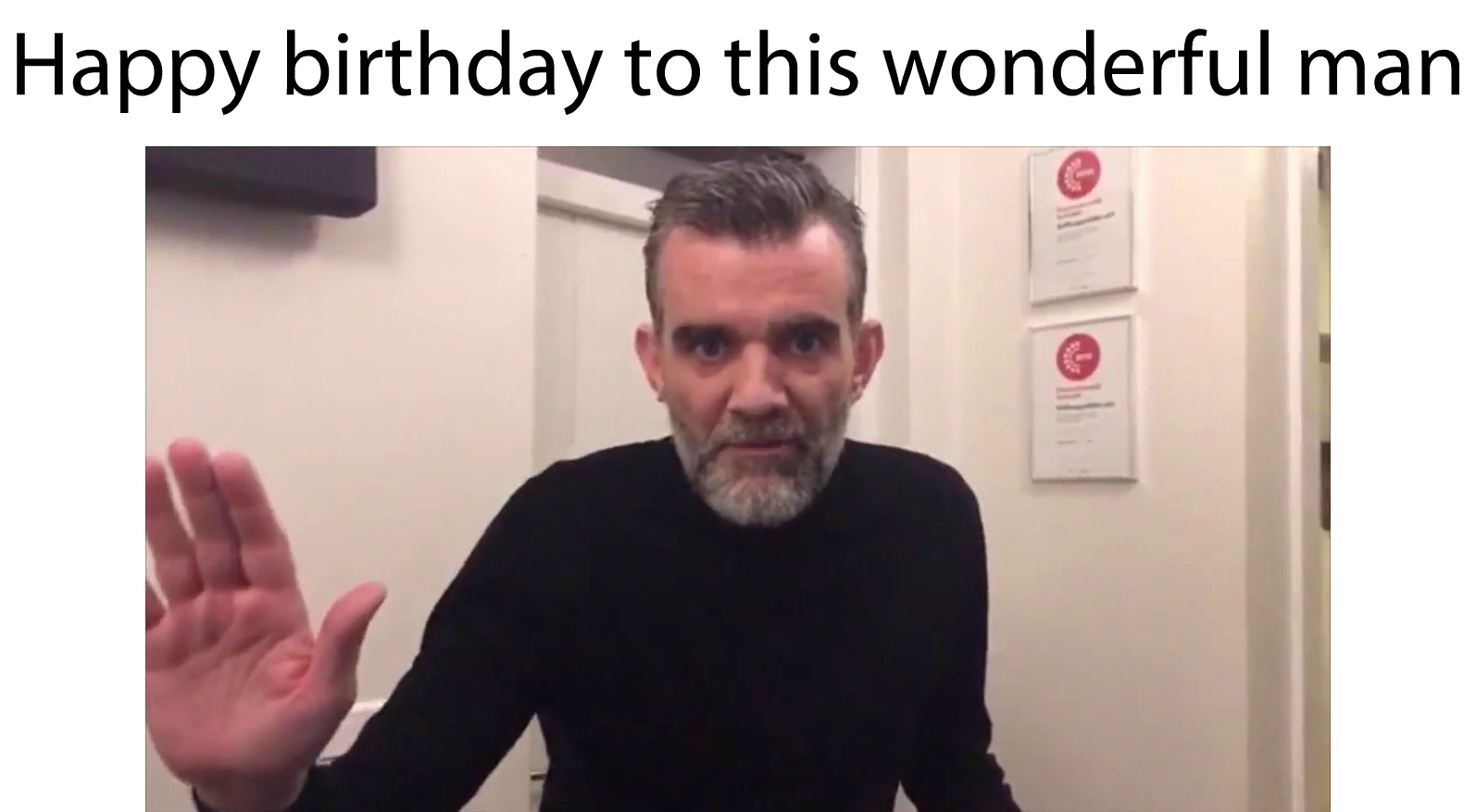 Happy birthday, Stefán Karl. You will always be Number One. - meme