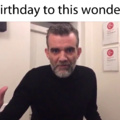Happy birthday, Stefán Karl. You will always be Number One.
