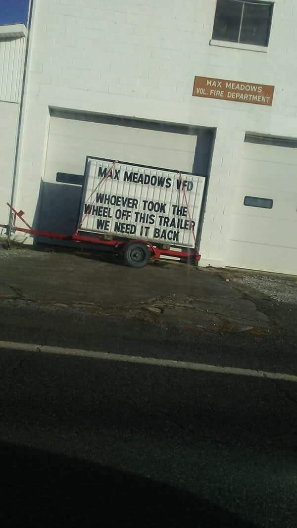 This is the Fire Department I pass on the way to work. - meme