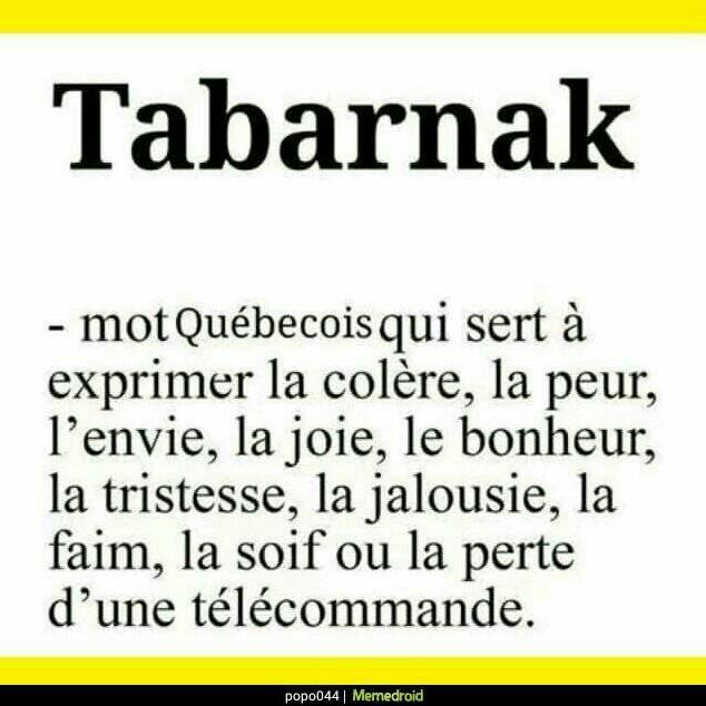 Les québécois - meme