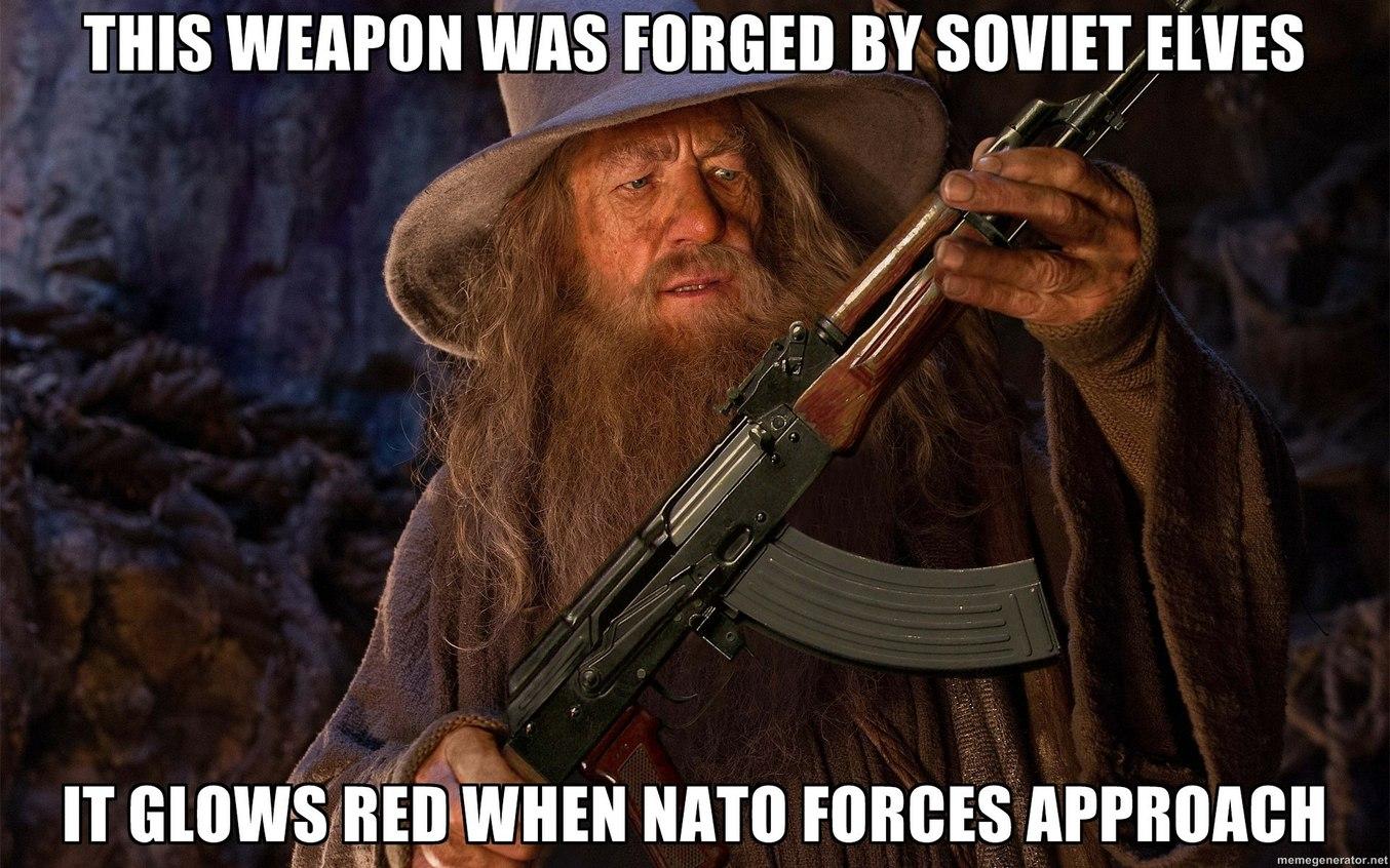 Soviet Elves - meme