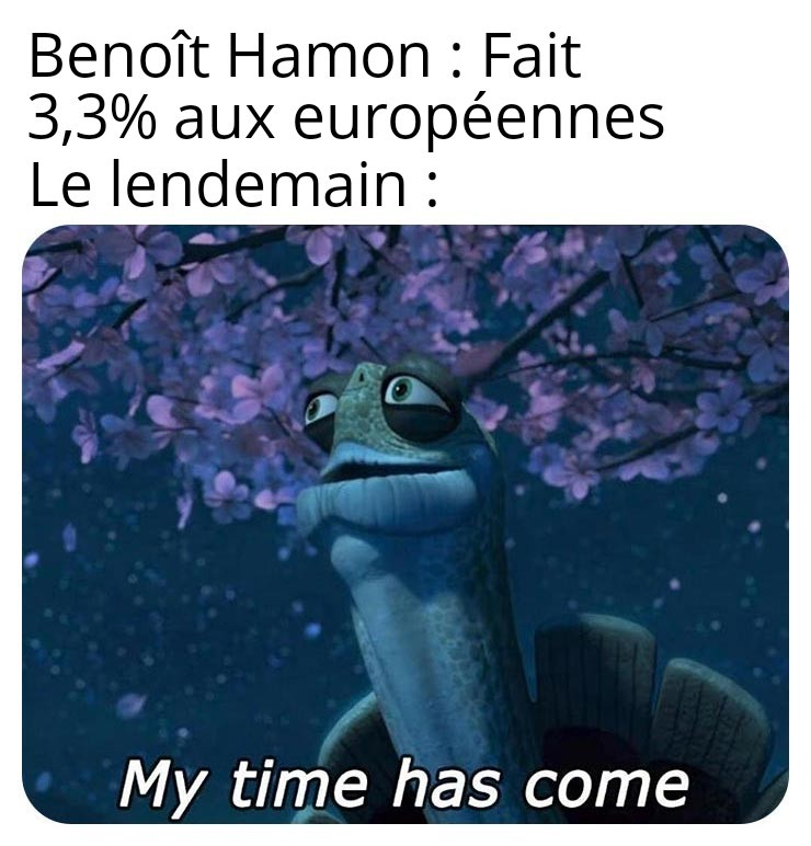 Quand tu fais moins de % qu'une Blanche Rosée (les belges comprendront) - meme