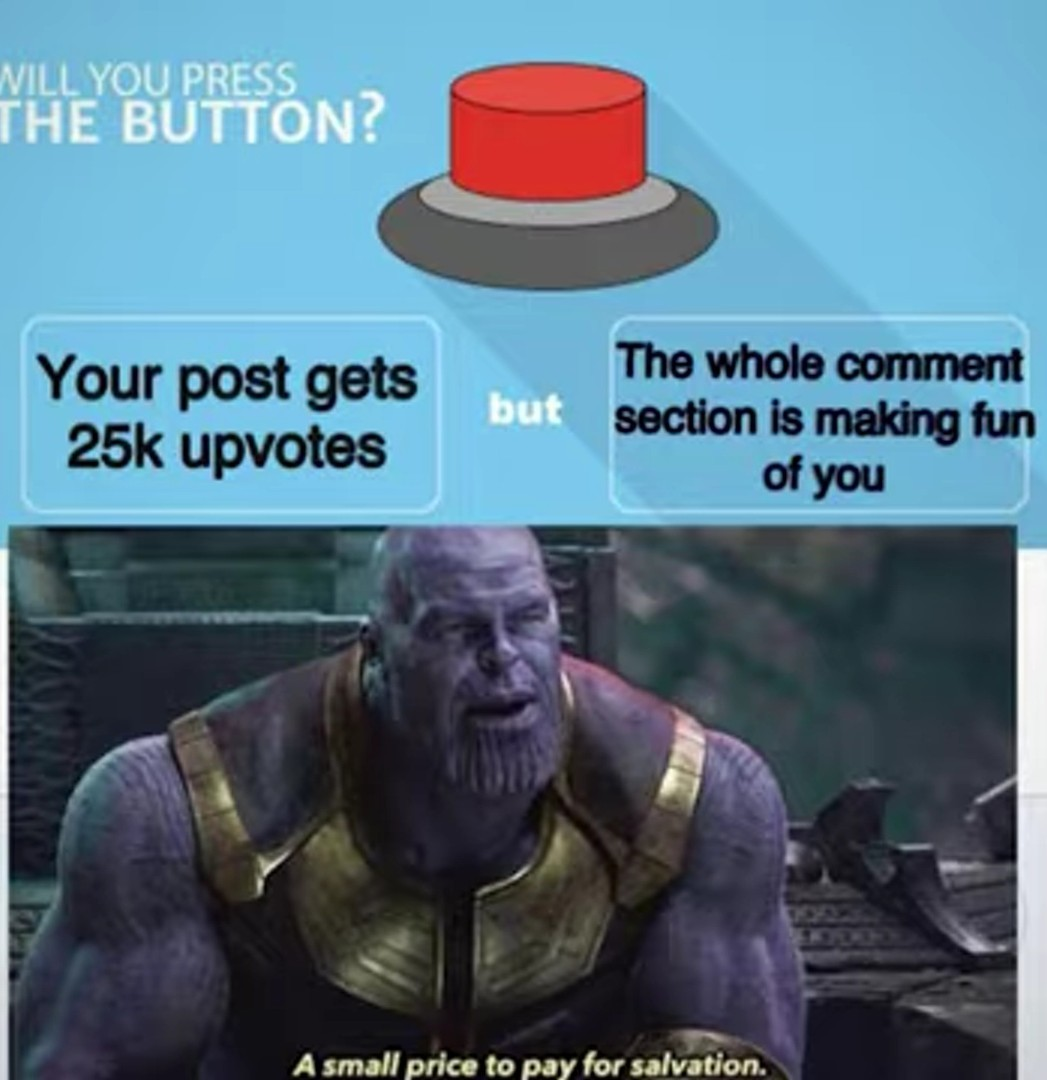 What you chose - meme