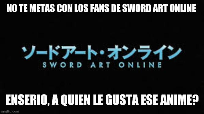 Sword Art Online - meme
