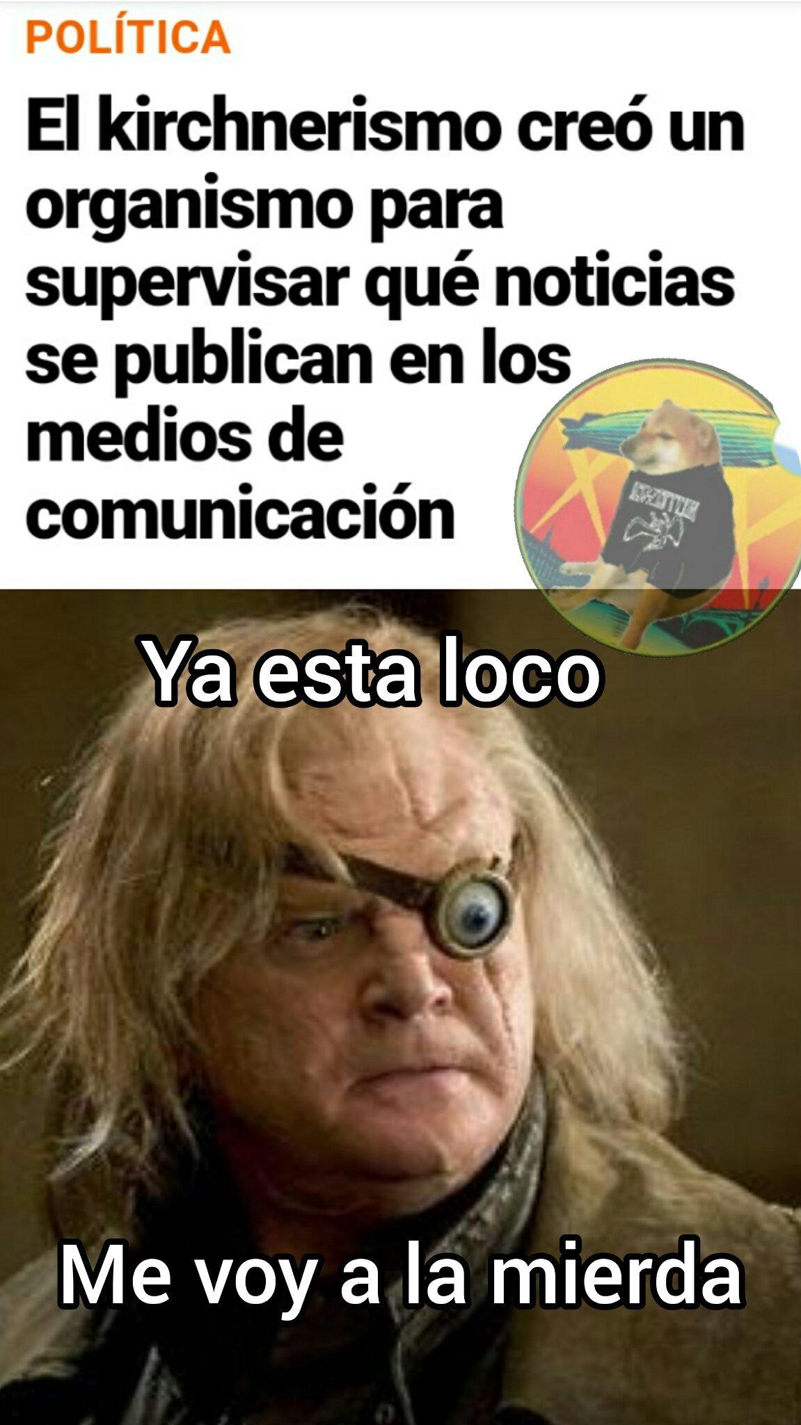 Malditos peronistas - meme
