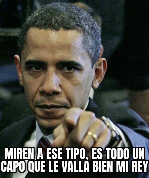Gracias obama - meme