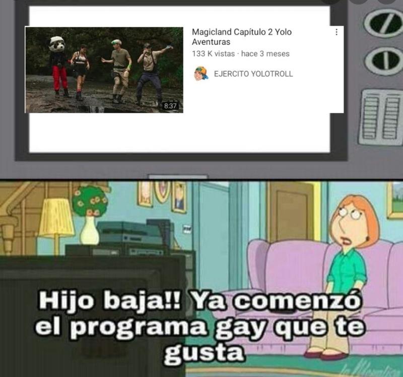 Programa gay - meme