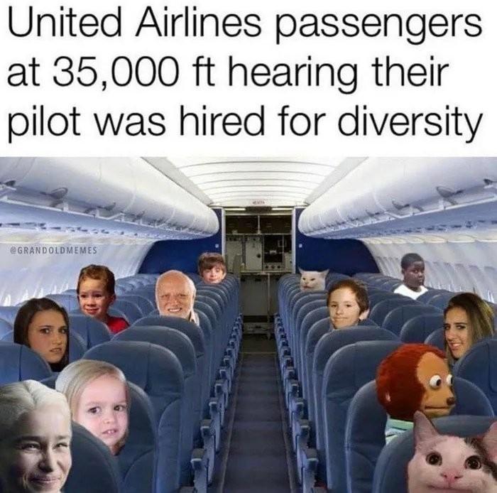 Progressive Airlines - meme