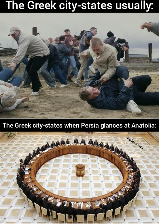 At least for the First Peloponnesian War - meme