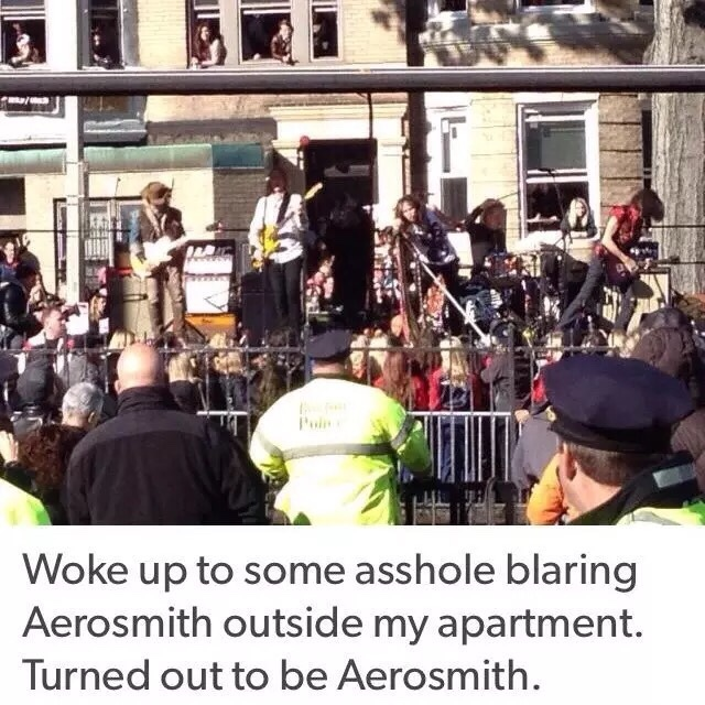 Aerosmith... - meme
