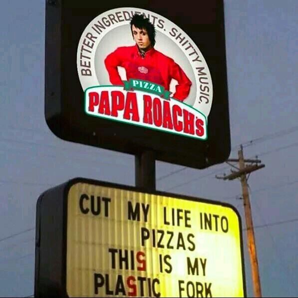 I miss papi roach - meme
