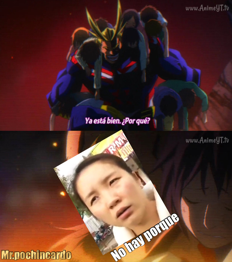 Boku no hero - meme