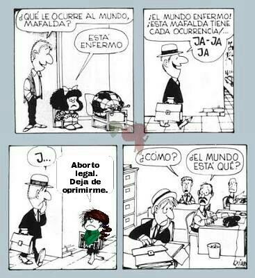 Mafalda. - meme