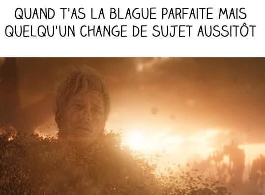 Poussière - meme