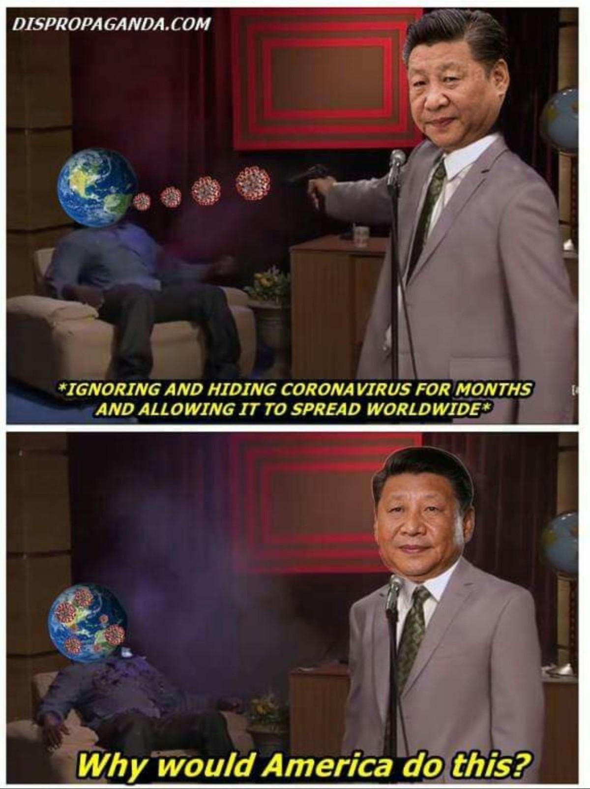 Choina - meme